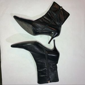Gucci Black Classy 163363 Boots/Booties